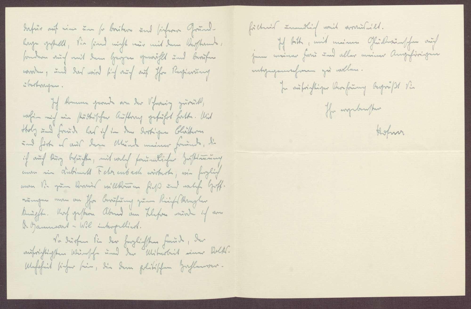 Schreiben an Constantin Fehrenbach, Glückwünsche zur Wahl zum Reichskanzler, Bild 3