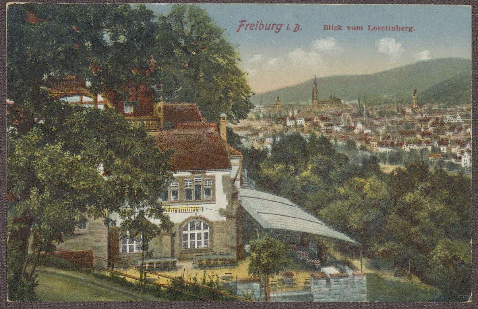 Postkarte an Marie von Bayer, Rorschach, Bild 2