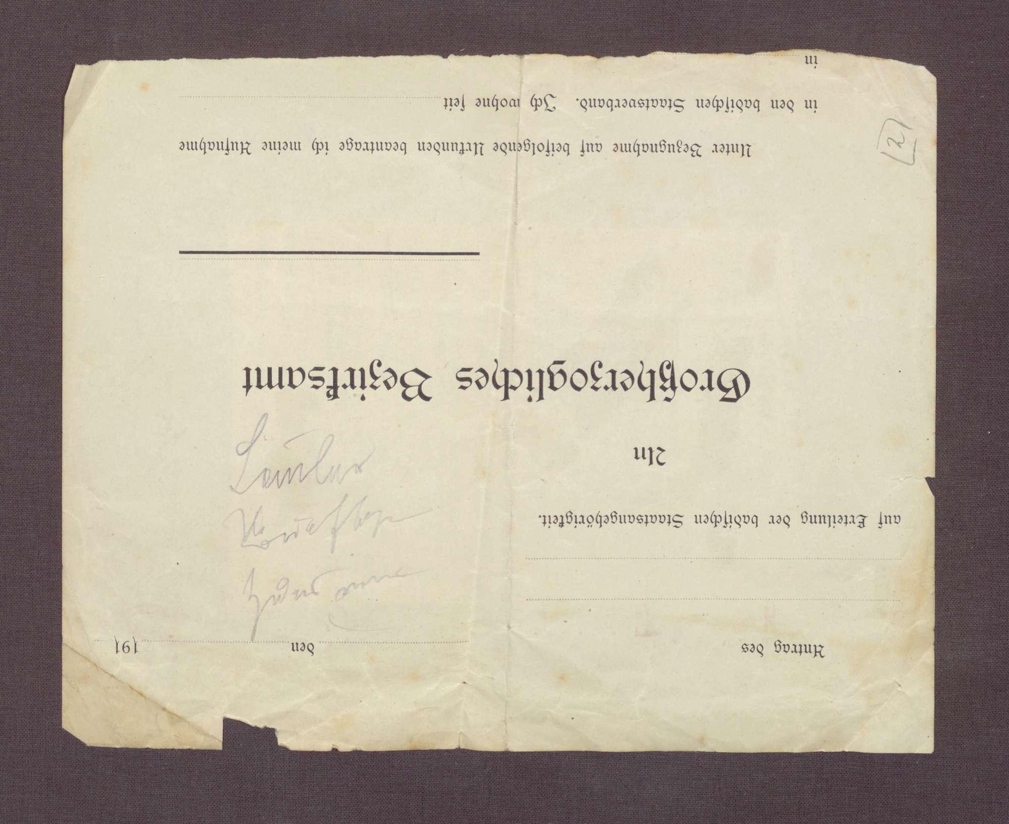 """Gedicht: """"Seid wachsam ihr Freiheitshüter"""" von Rudolf Franz, Redakteur in Leipzig, Bild 2"""