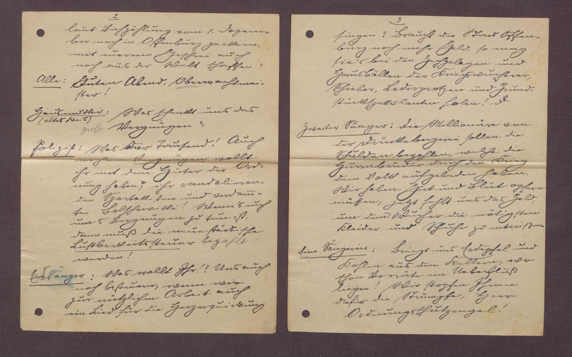 """Manuskript """"Wintersonnenwend-Feier"""", Bild 2"""