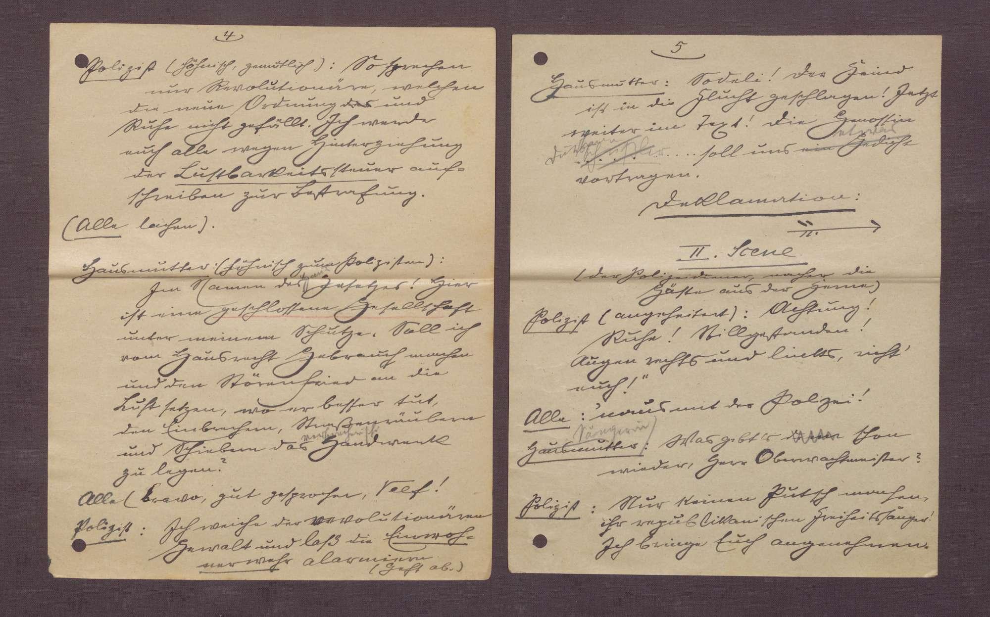 """Manuskript """"Wintersonnenwend-Feier"""", Bild 3"""