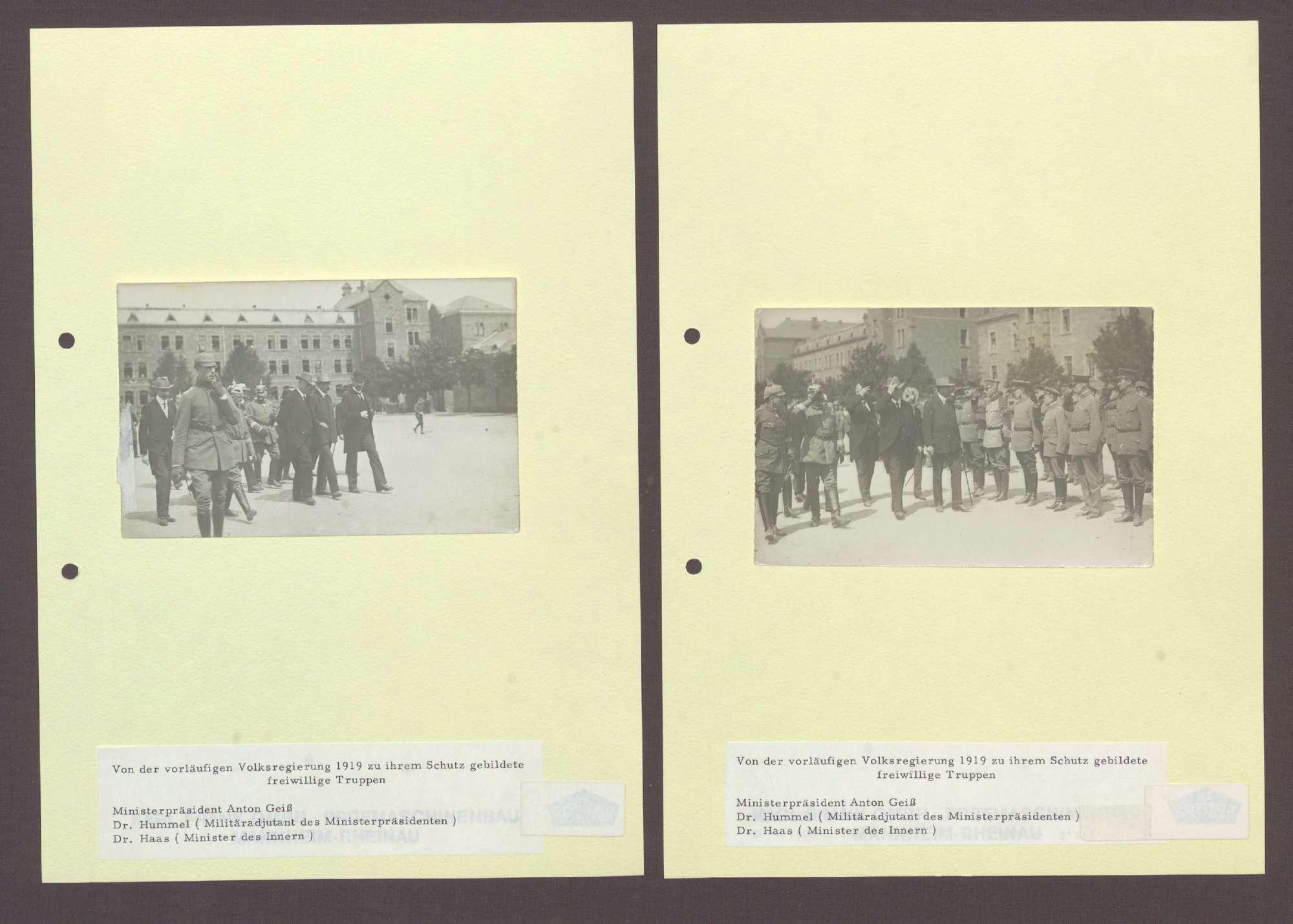 Freiwilligentruppe zum Schutz der vorläufigen Volksregierung, Bild 2