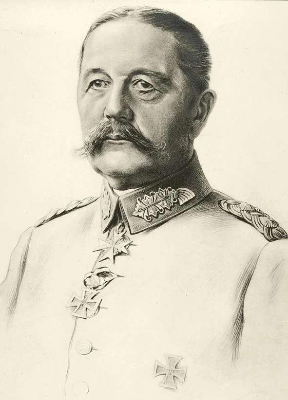 Gaede, Hans; General der Infanterie, geboren am 19.02.1852 in Kolberg, Bild 1