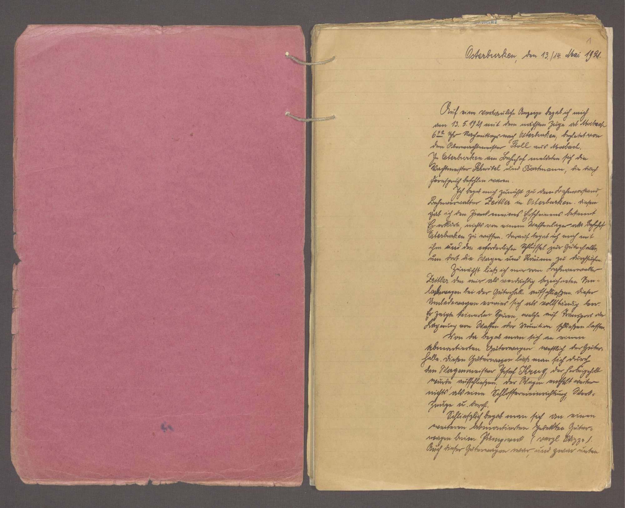 Honikel, August, geb. 09.12.1884 in Dittwar, Obereisenbahnsekretär, Bild 2