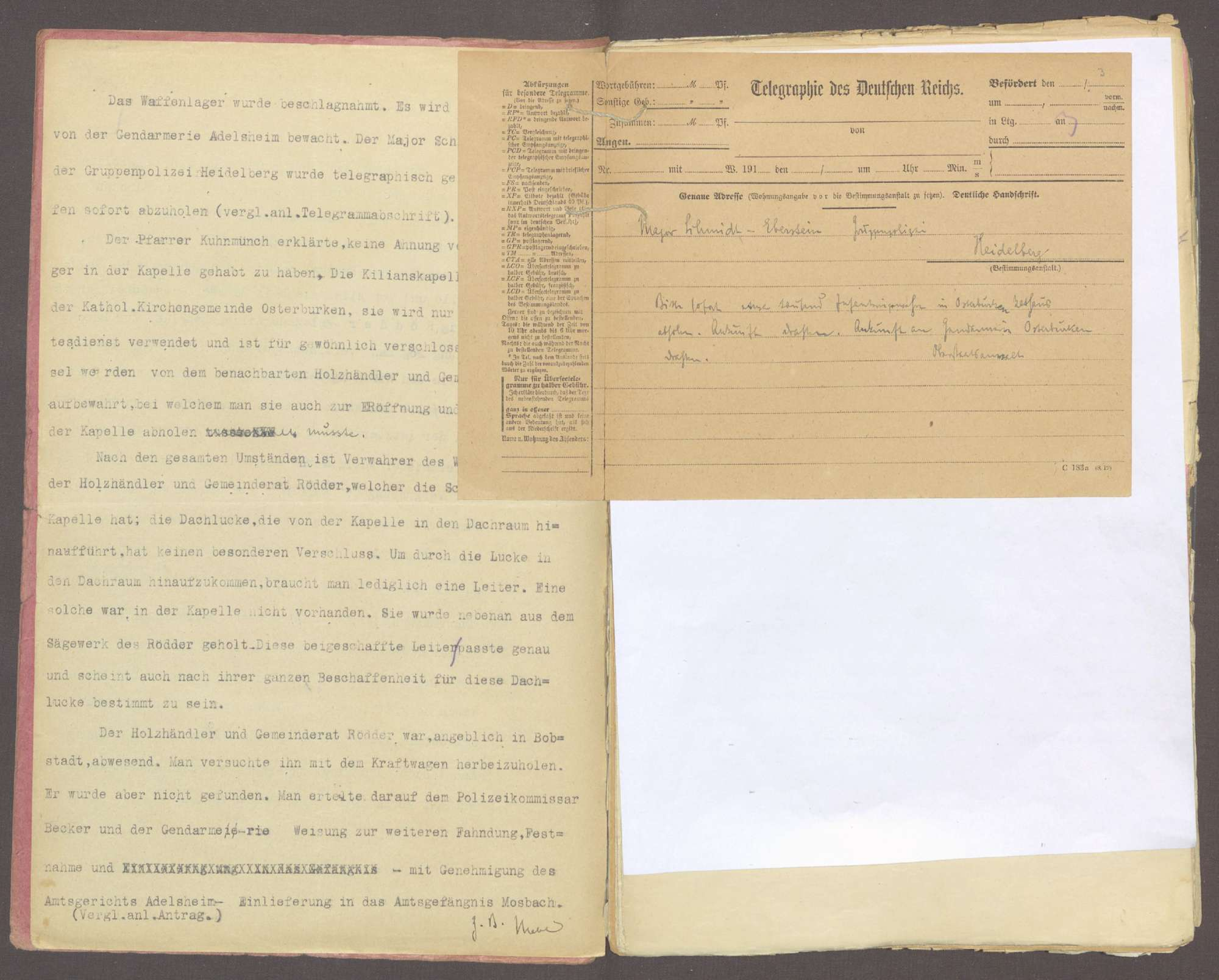 Honikel, August, geb. 09.12.1884 in Dittwar, Obereisenbahnsekretär, Bild 3