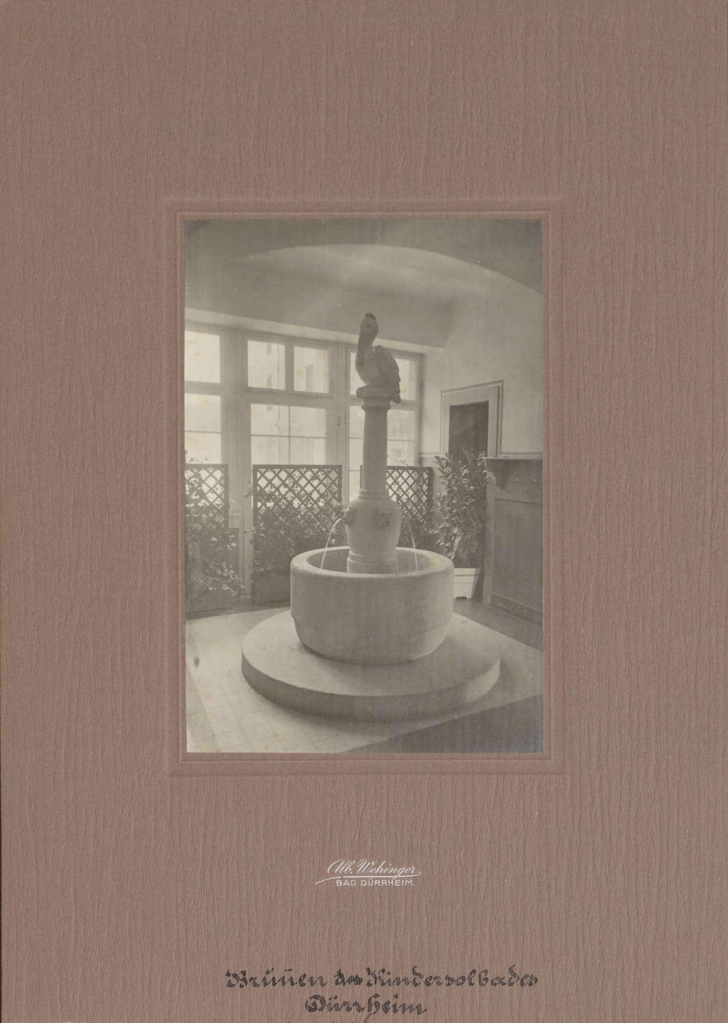 Brunnen des Kindersolbades., Bild 1