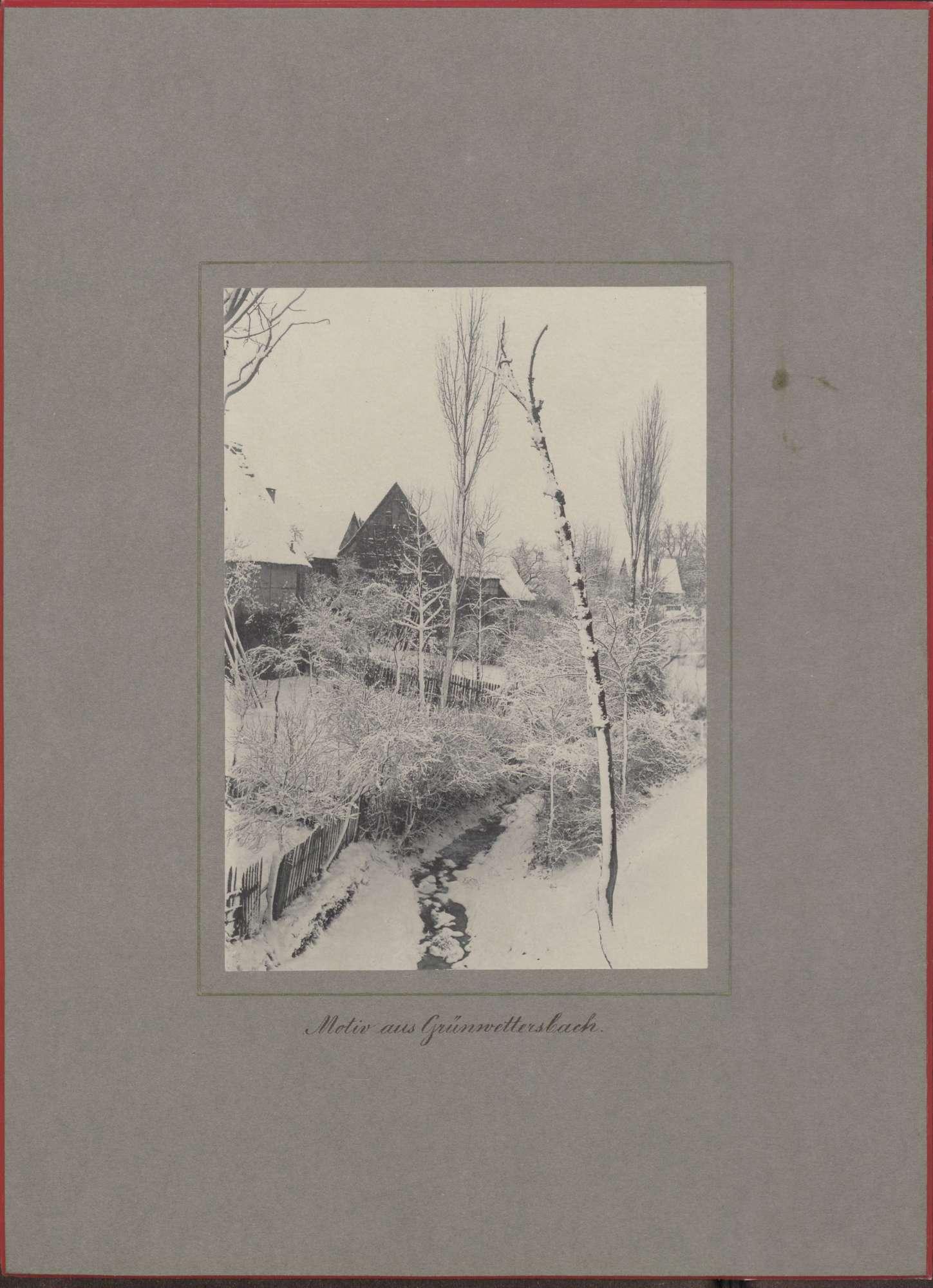 """""""Motiv aus Grünwettersbach""""., Bild 1"""