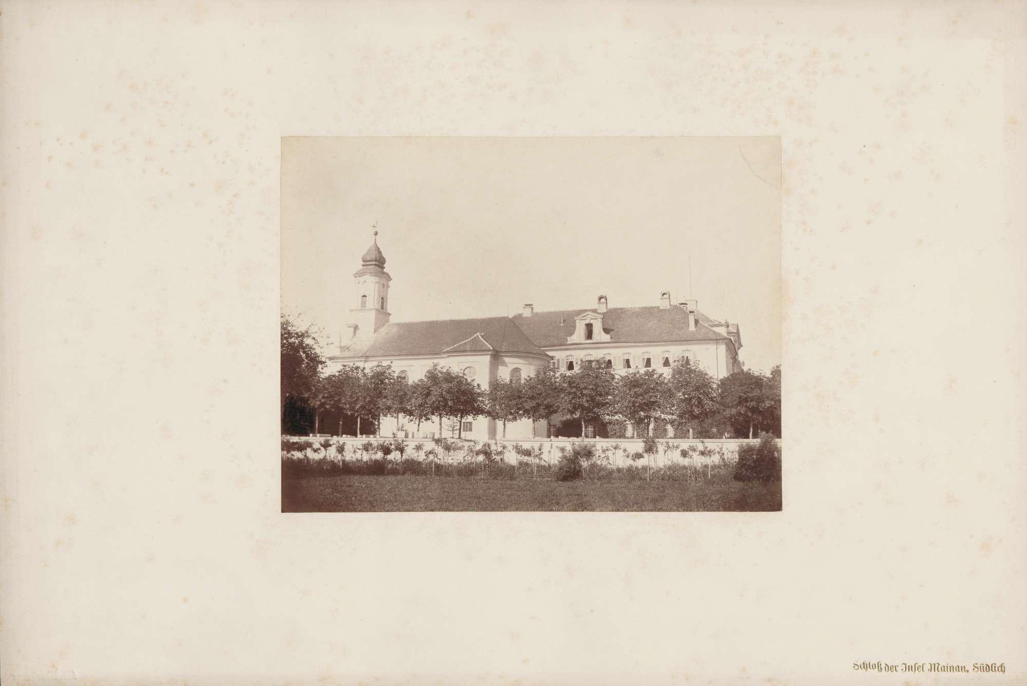 """""""Schloss der Insel Mainau. Südlich""""., Bild 1"""