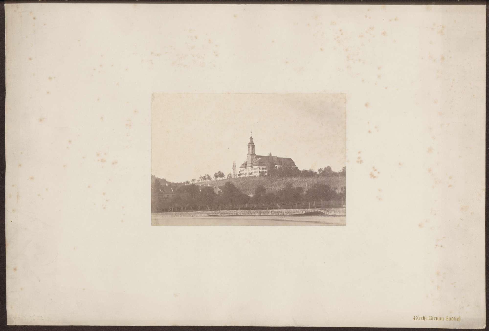 Kirche in Birnau, vom See aus gesehen., Bild 1