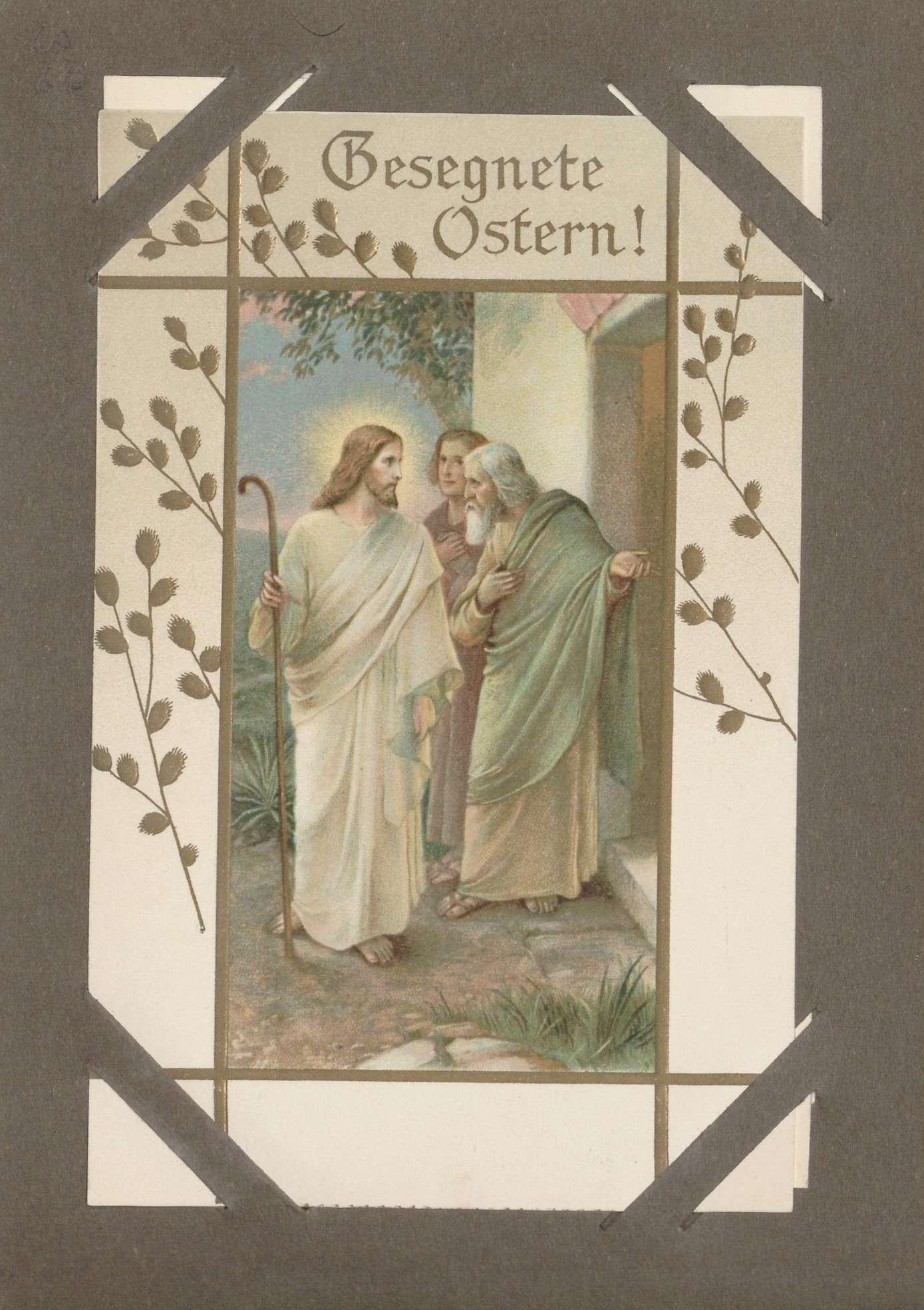 """Ansichtskarte """"Gesegnete Ostern"""", Bild 1"""