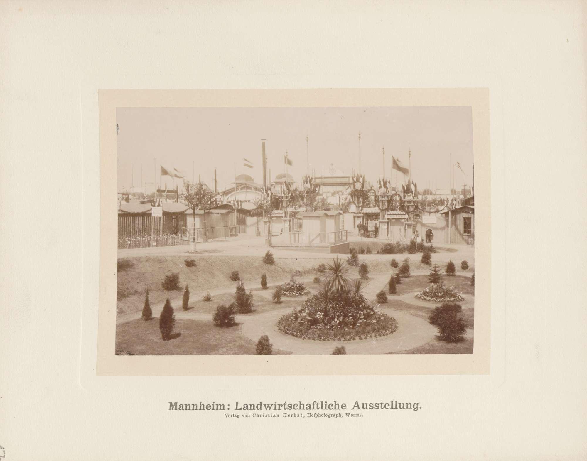 Landwirtschaftliche Ausstellung in Mannheim, Bild 1