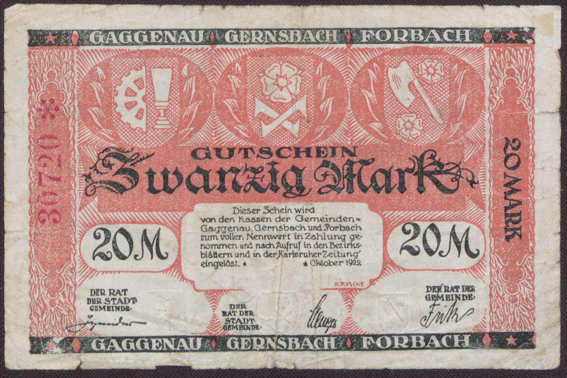 Gaggenau, Gernsbach, Forbach, Bild 1