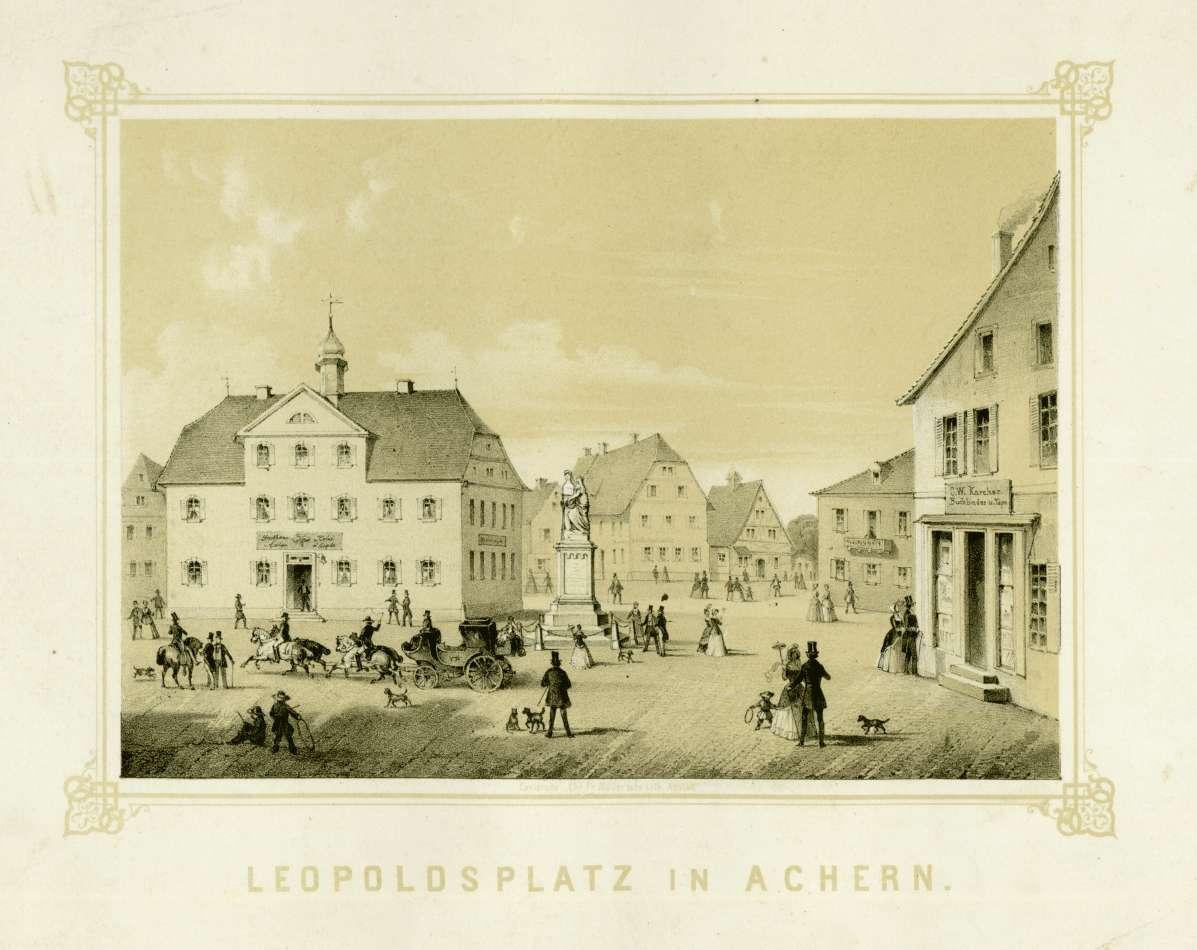Leopoldsplatz in Achern, Bild 1