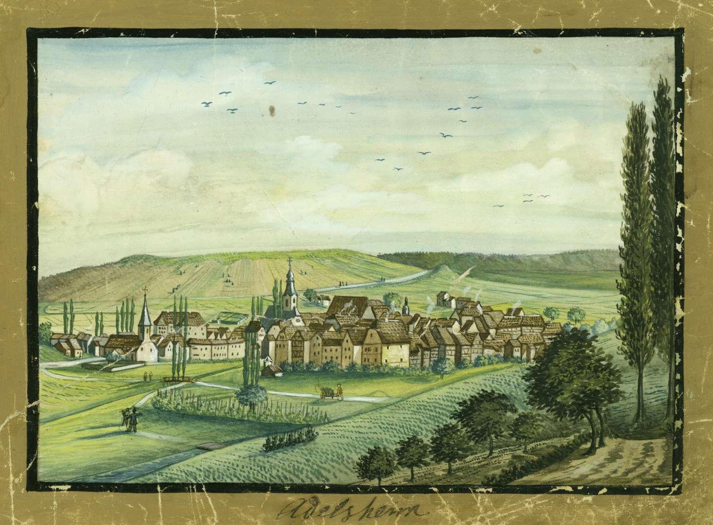 Adelsheim, Bild 1