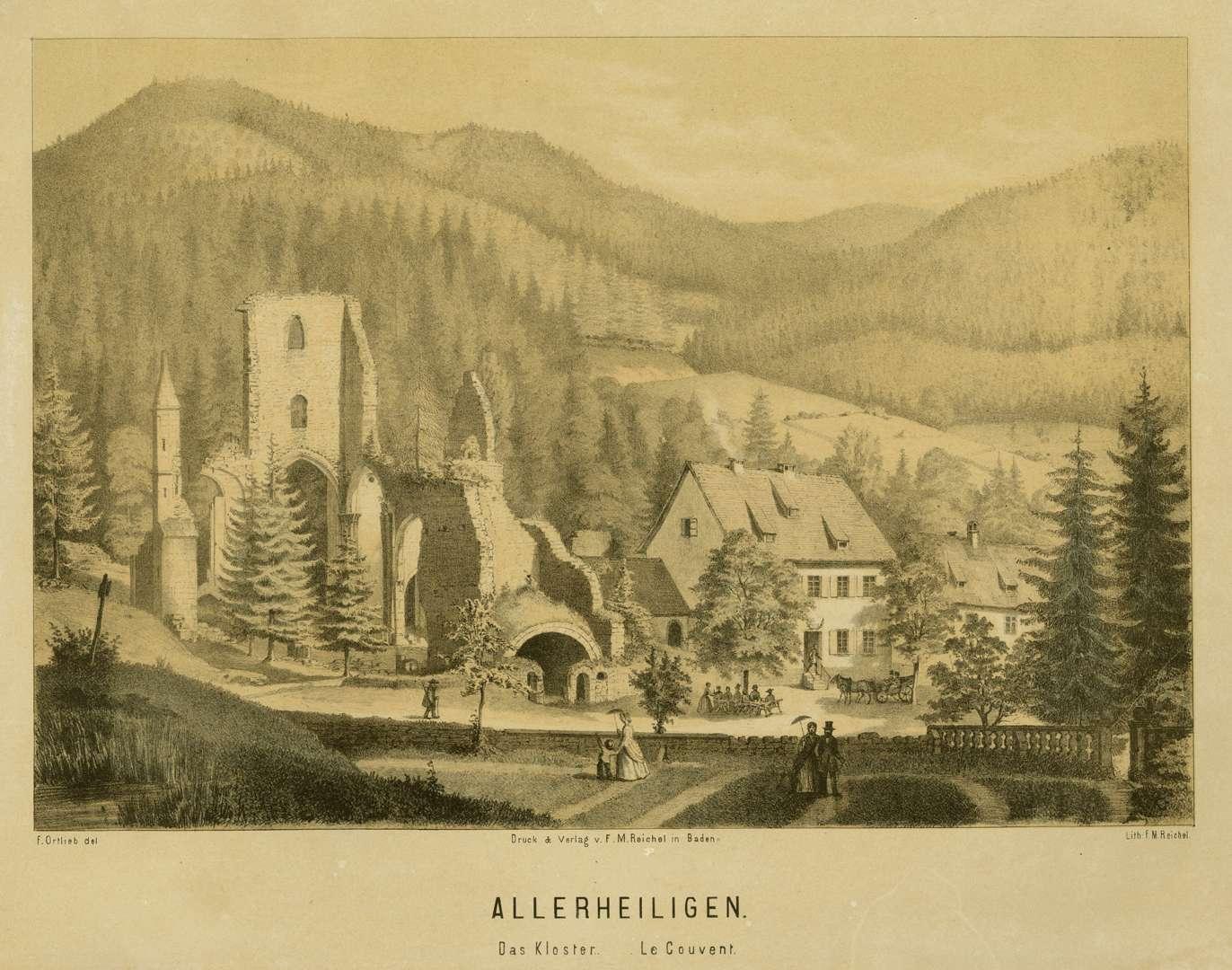 Allerheiligen, Das Kloster, Le Couvent, Bild 1