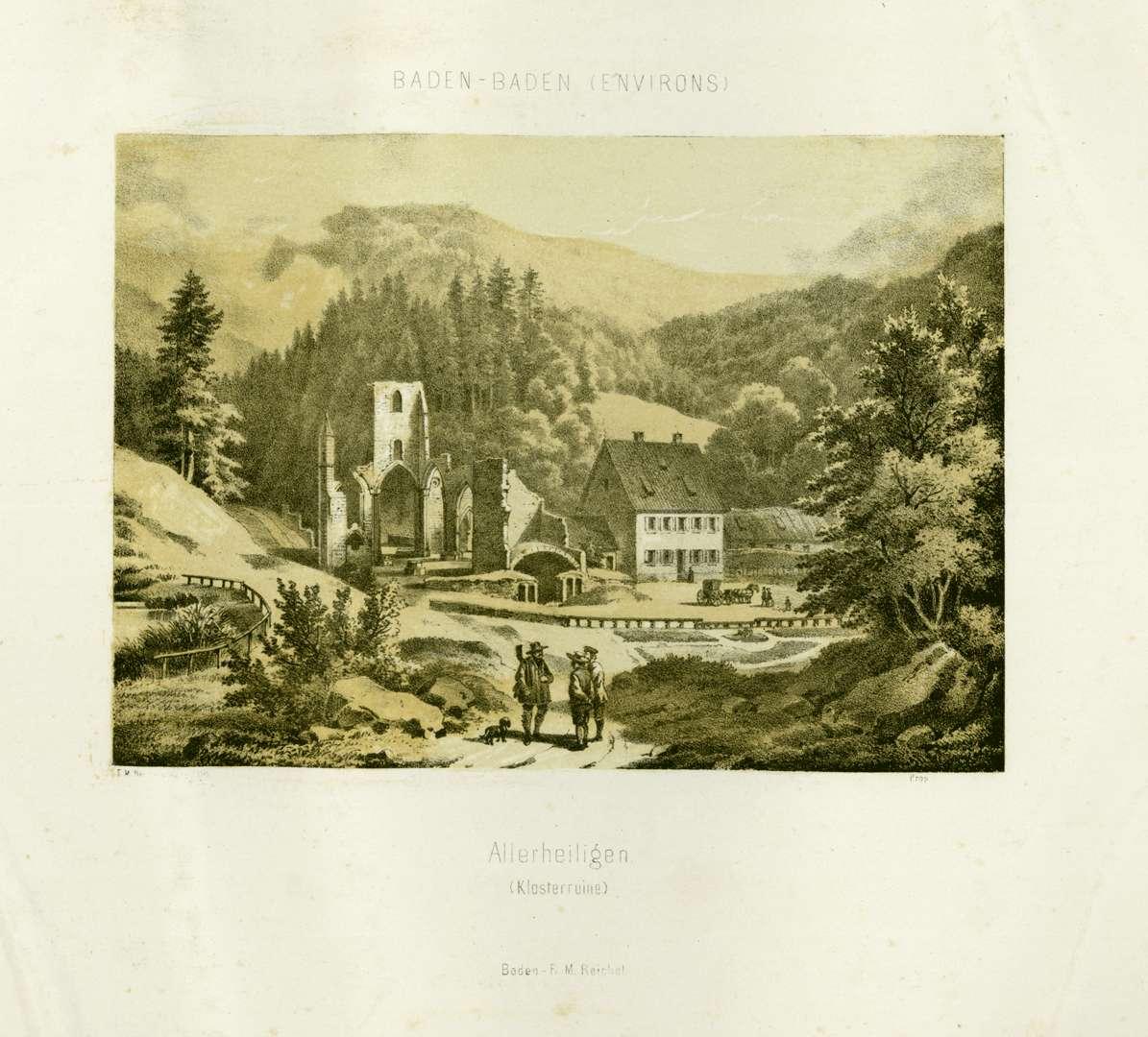 Allerheiligen, Klosterruine, Bild 1