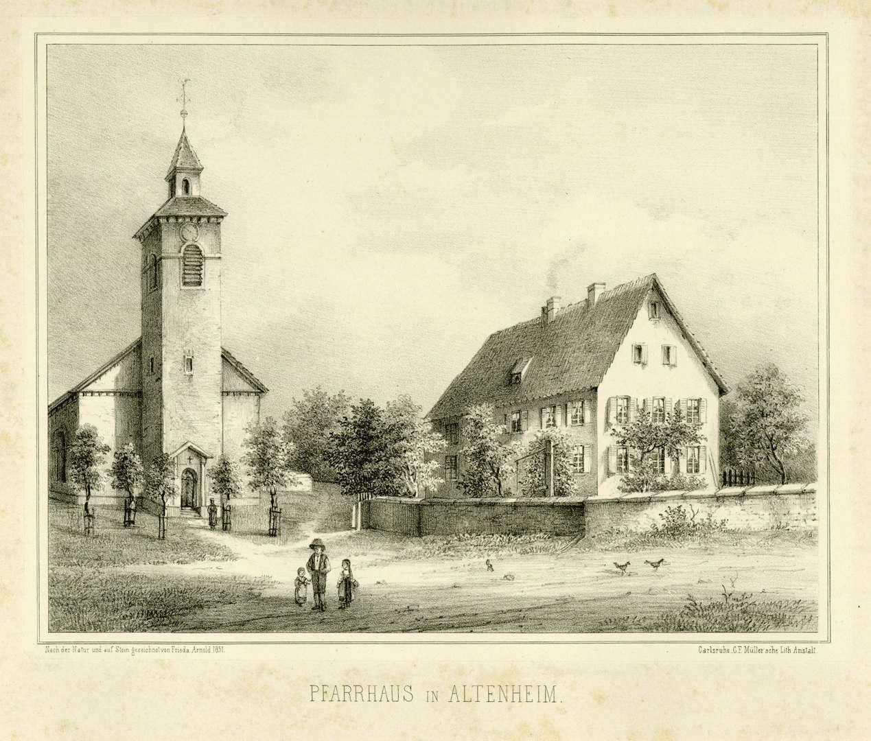 Pfarrhaus in Altenheim, Bild 1