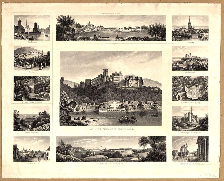 Ansichten von Baden, Bild 1