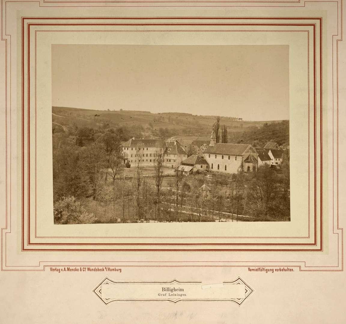 Schloss der Grafen von Leiningen, Bild 1