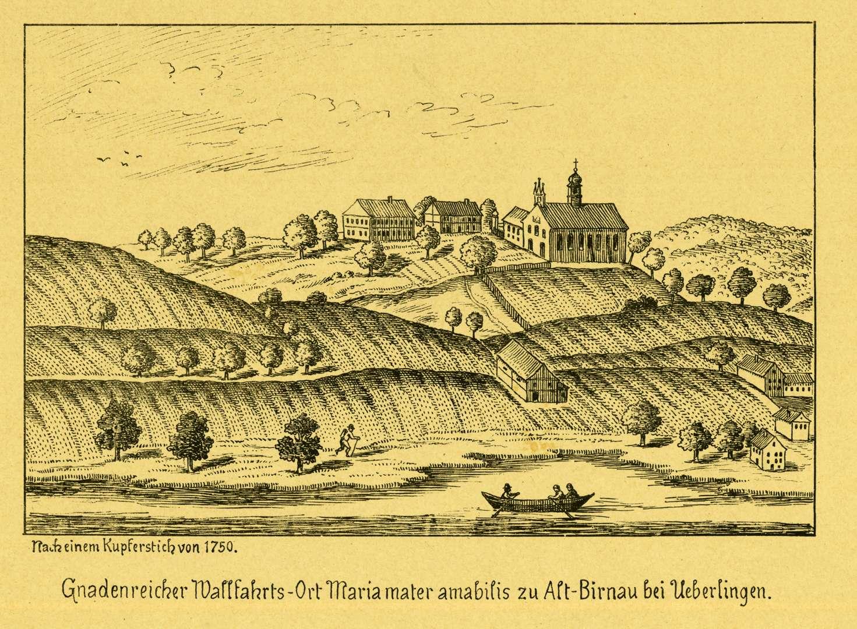 Gnadenreicher Wallfahrts-Ort Maria mater amabilis zu Alt-Birnau bei Überlingen, Bild 1