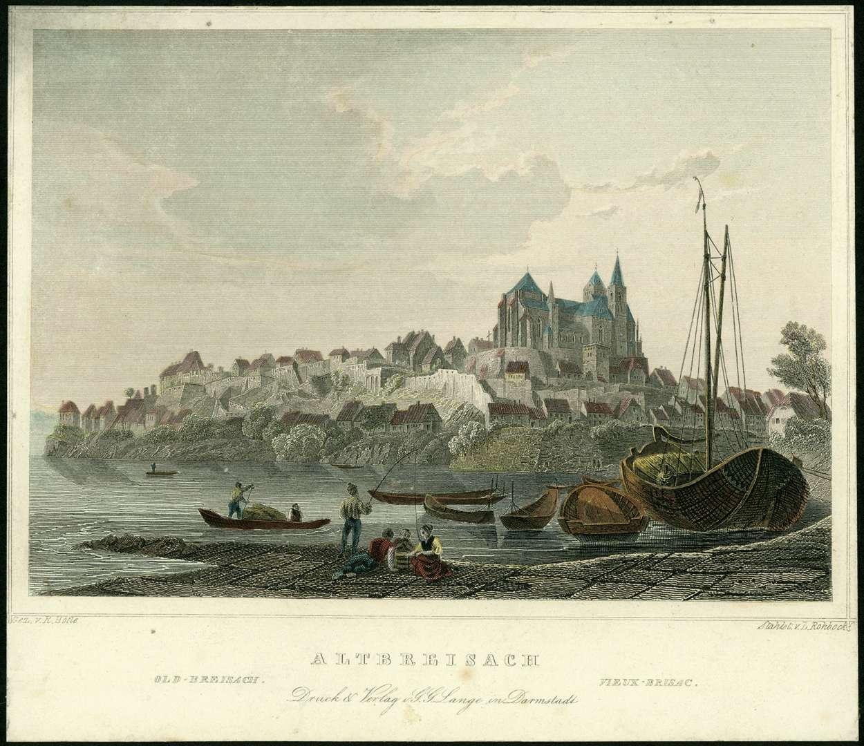 Altbreisach, Old Breisach, Bild 1
