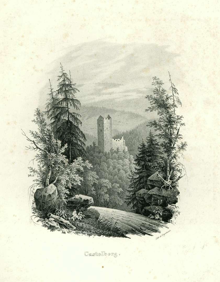 Castelberg [Kastelburg], Bild 1