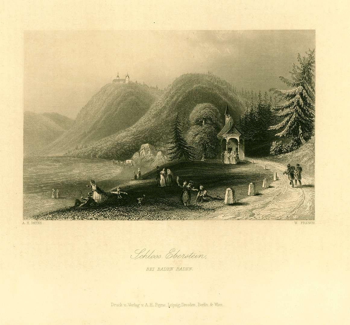 Schloß Eberstein bei Baden-Baden, Bild 1