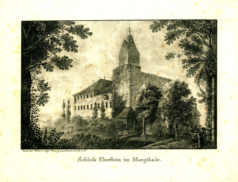 Schloß Eberstein im Murgthale, Bild 1