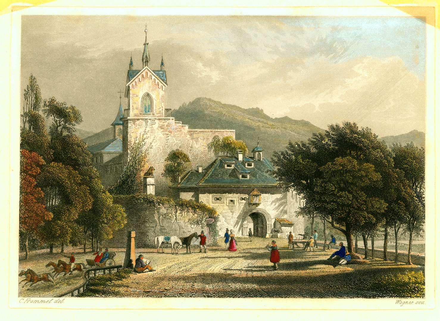 Eingang in das alte Schloss Eberstein, Bild 1