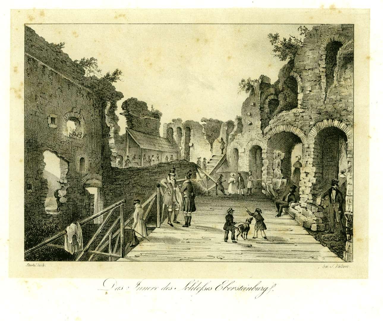 Das Innere des Schlosses Ebersteinburg, Bild 1