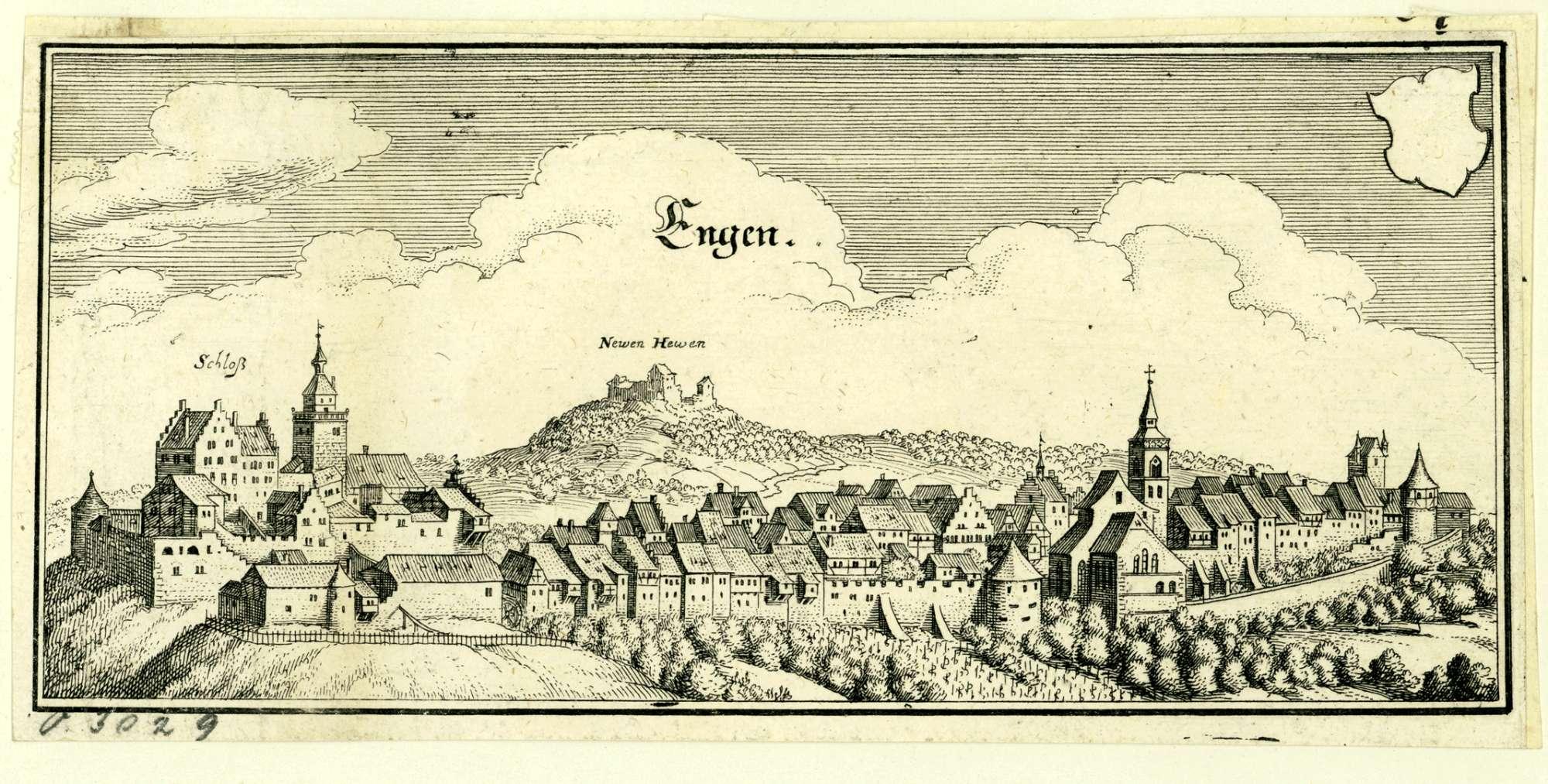 Engen mit Schloss Newen Hewen, Bild 1