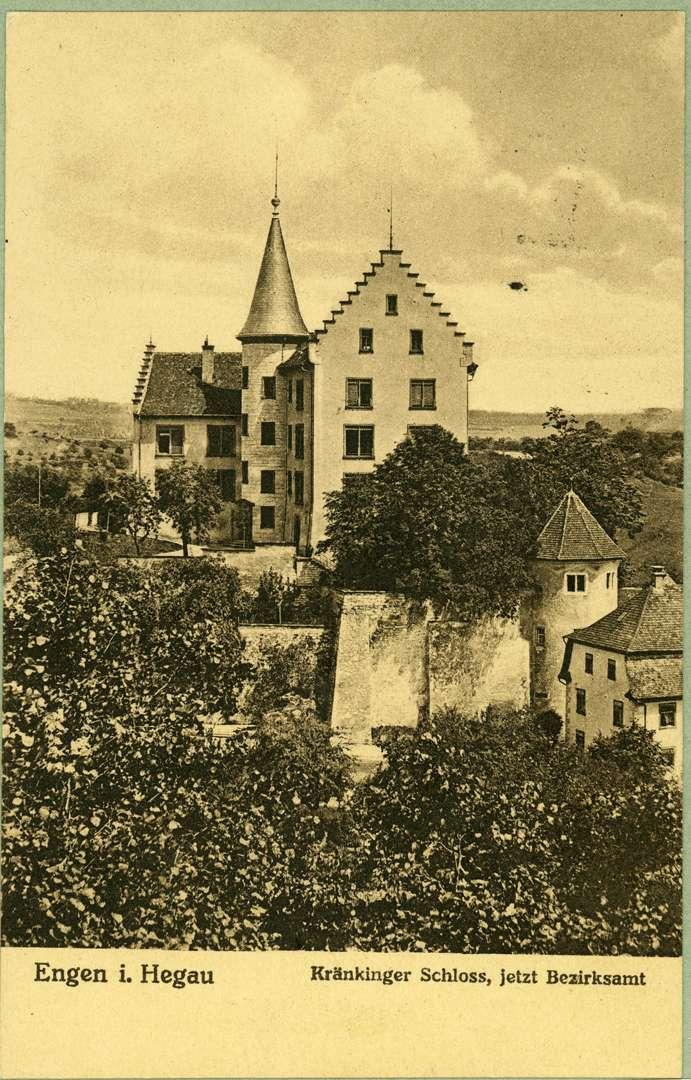 Engen im Hegau Kränkinger Schloss, jetzt Bezirksamt, Bild 1