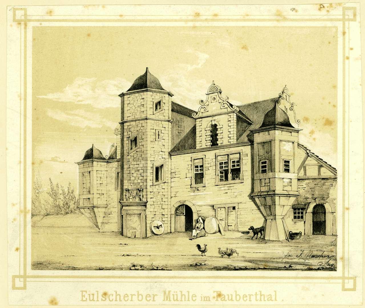 Eulscherbermühle im Taubertal, Bild 1