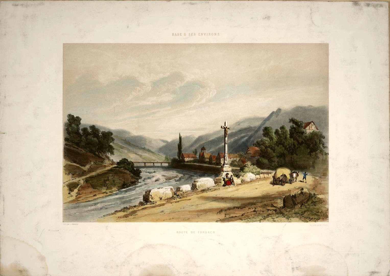Route de Forbach, Bild 1