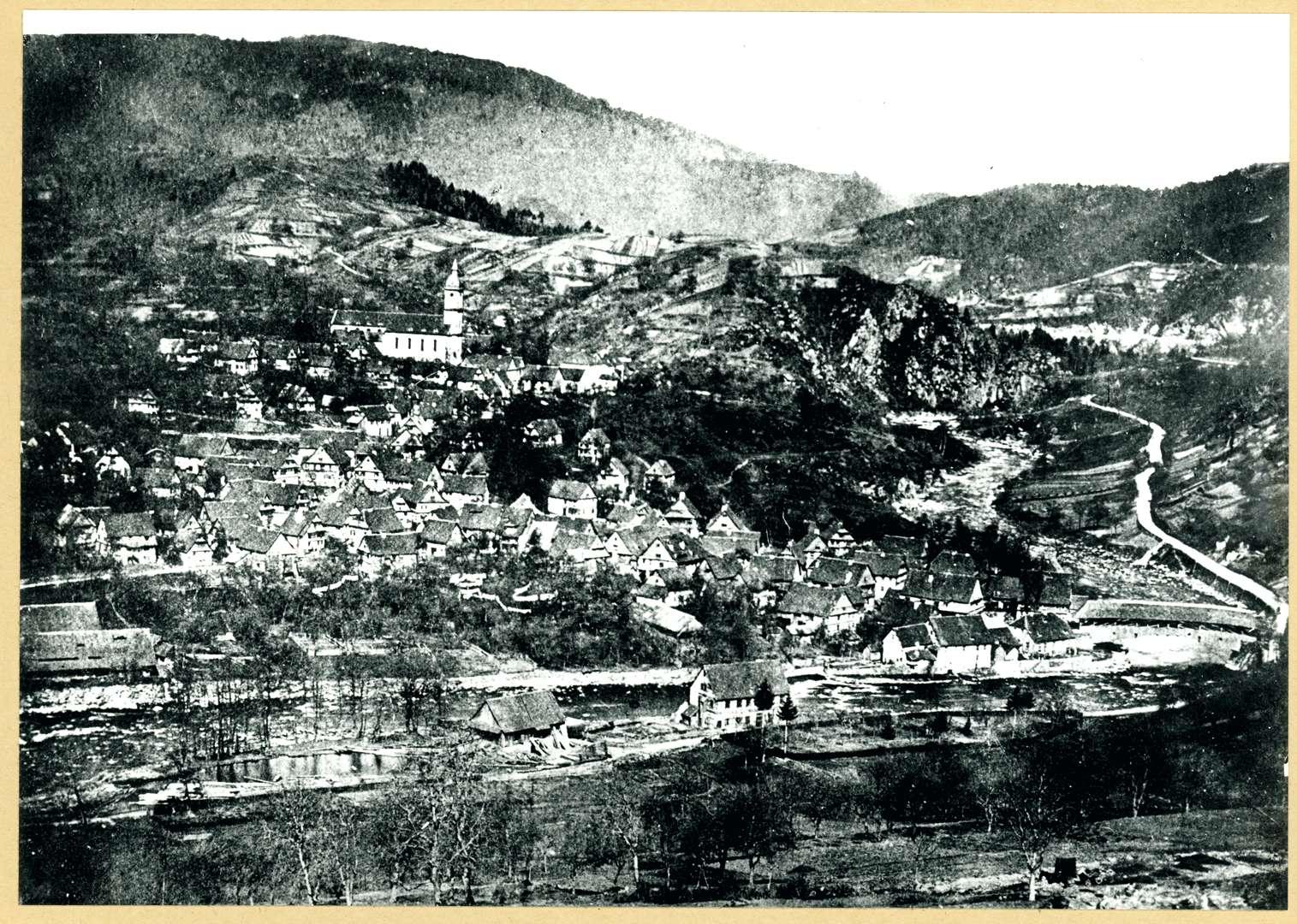 Ansicht von Forbach, Bild 1