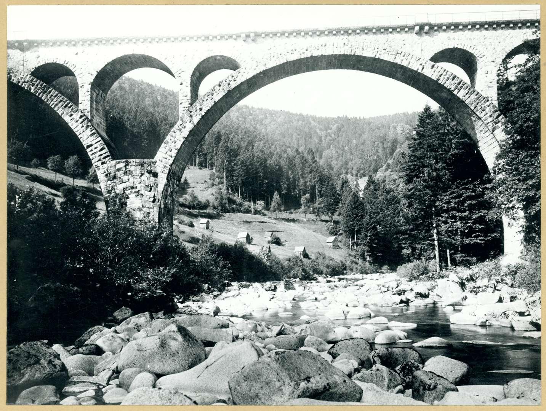 Brücke über die Murg zwischen Forbach und Raumünzach, Bild 1