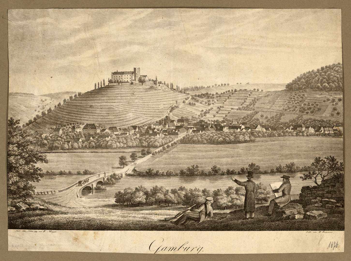Gamburg, Bild 1