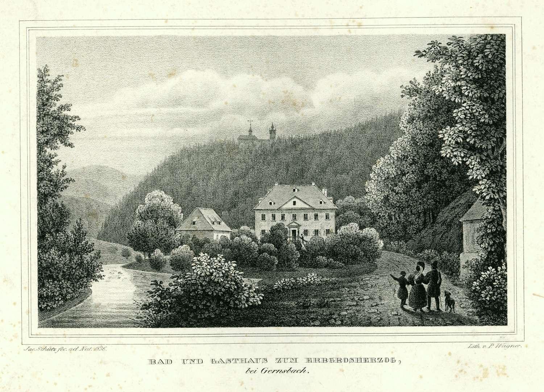 Bad und Gasthaus zum Erbgroßherzog bei Gernsbach, Bild 1