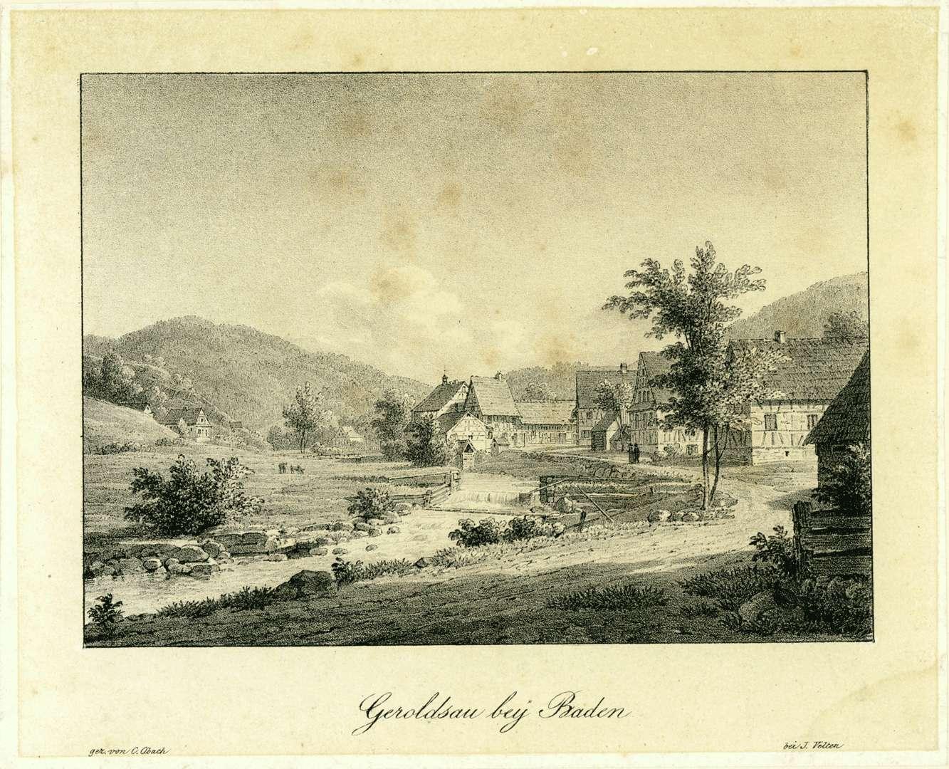 Geroldsau bey Baden, Bild 1