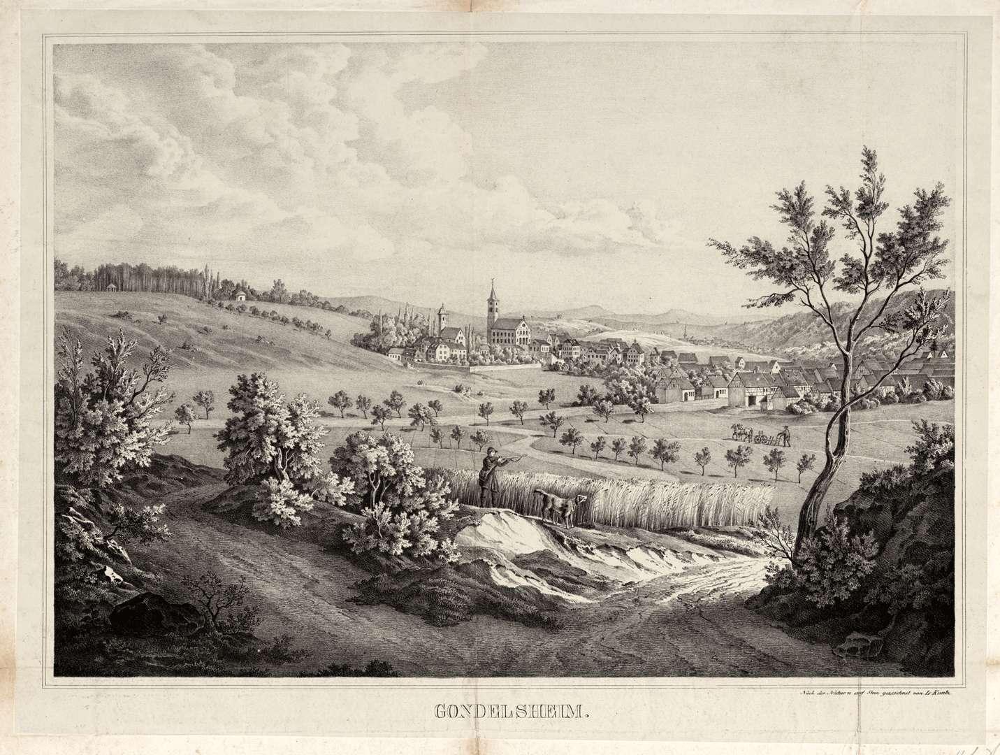Gondelsheim, Bild 1