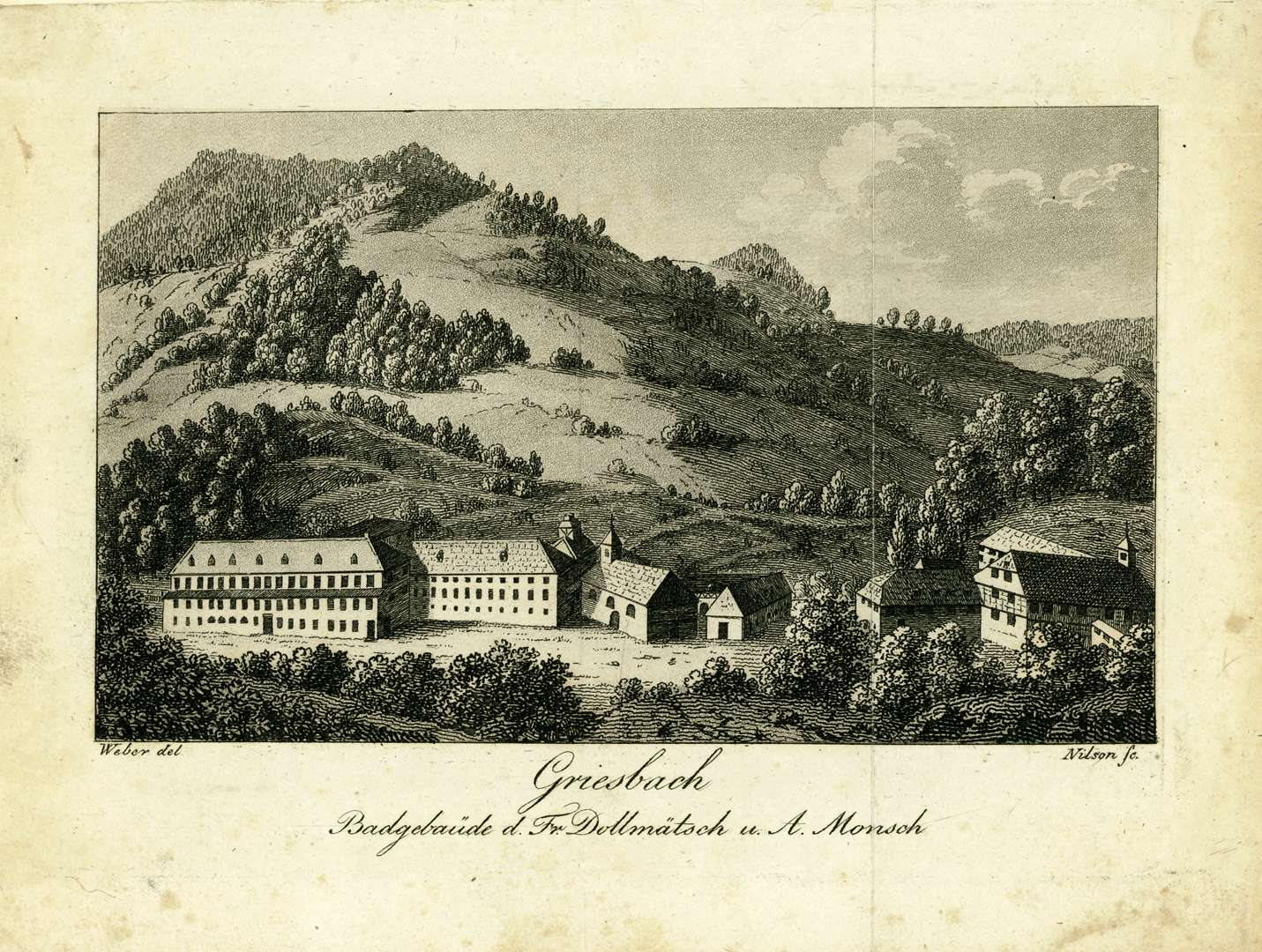 Badgebäude des Fr. Dollmätsch u. A. Monsch, Bild 1