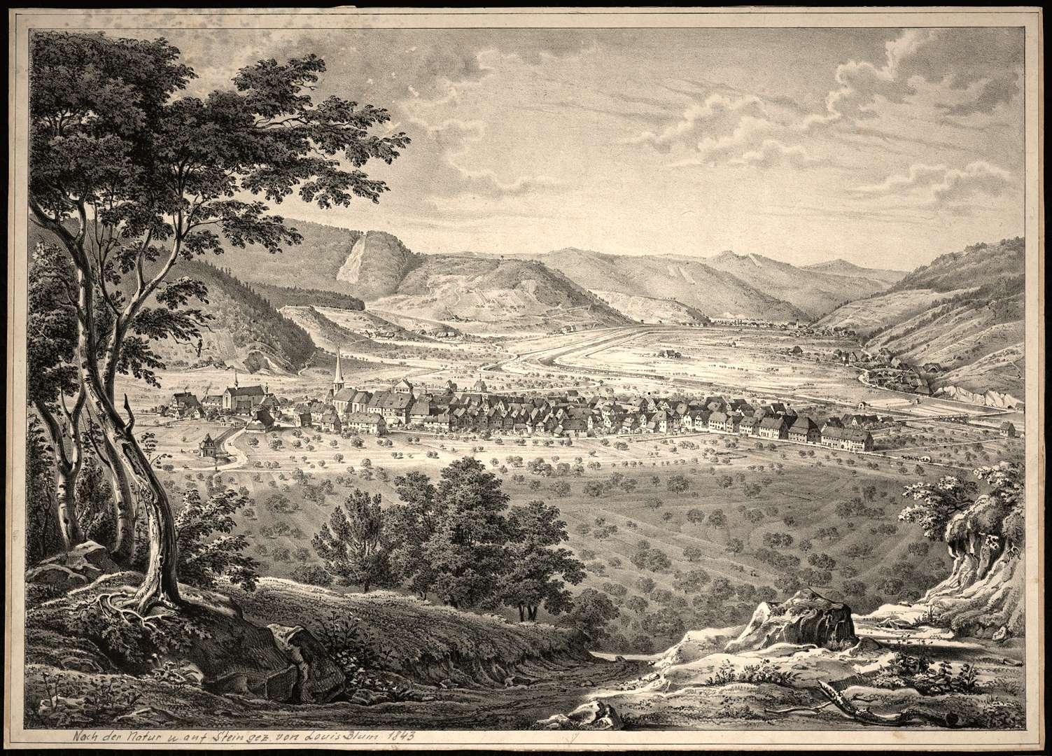 Blick gegen Nordwesten, Bild 1