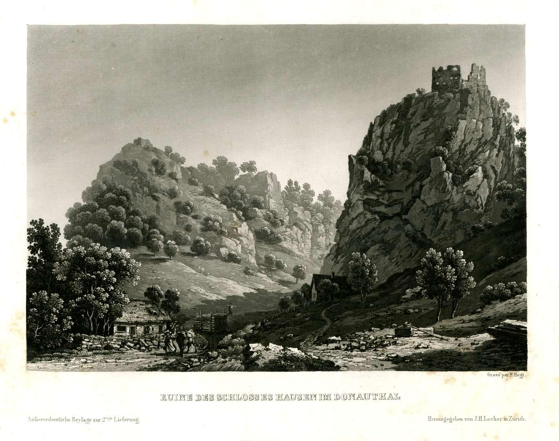 Ruine des Schlosses Hausen im Donauthal, Bild 1