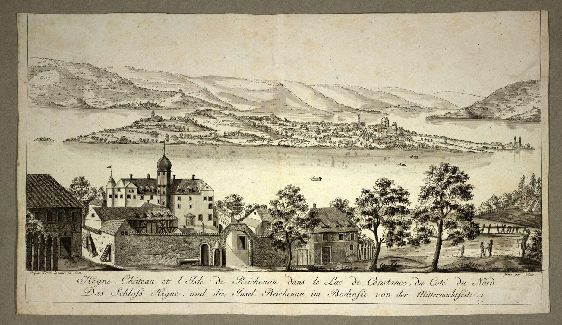 Hegne, Château et l