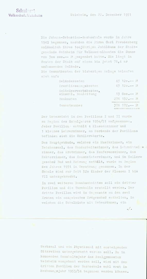 [Johann-Sebastian-]Bach-Schule Weinheim, Bild 1