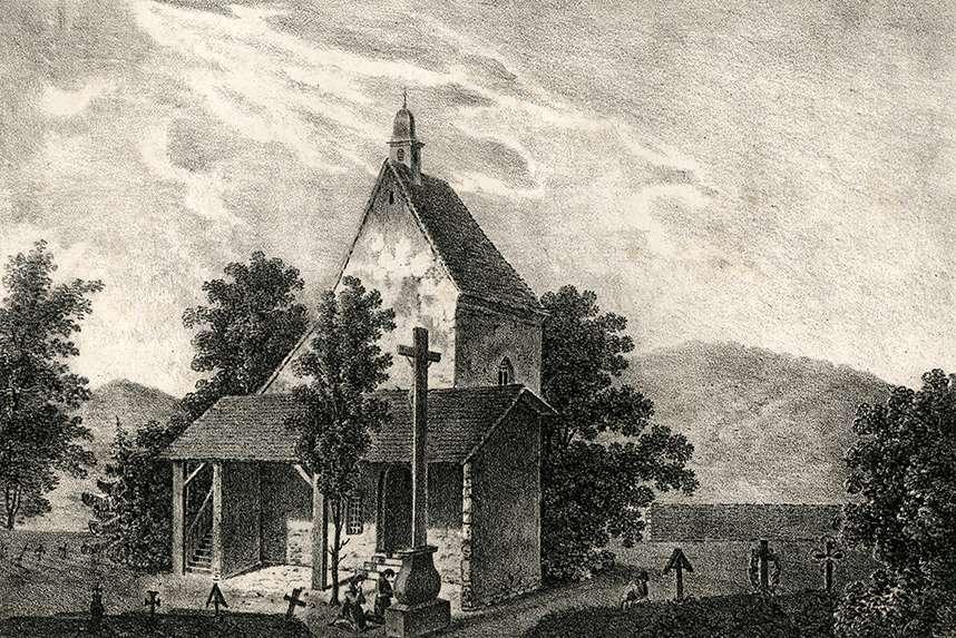 Kapelle auf dem Kirchhofe in Weisenbach im Murgthale, Bild 1