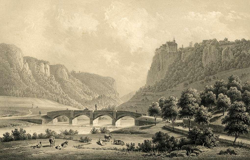 Schloss Werenwaag, Bild 1