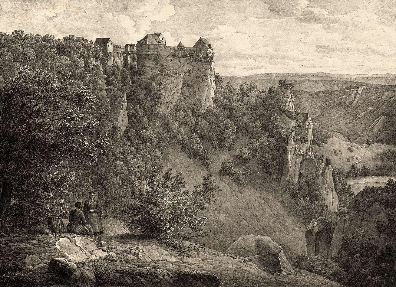Baden. Festung Wildenstein, Bild 1
