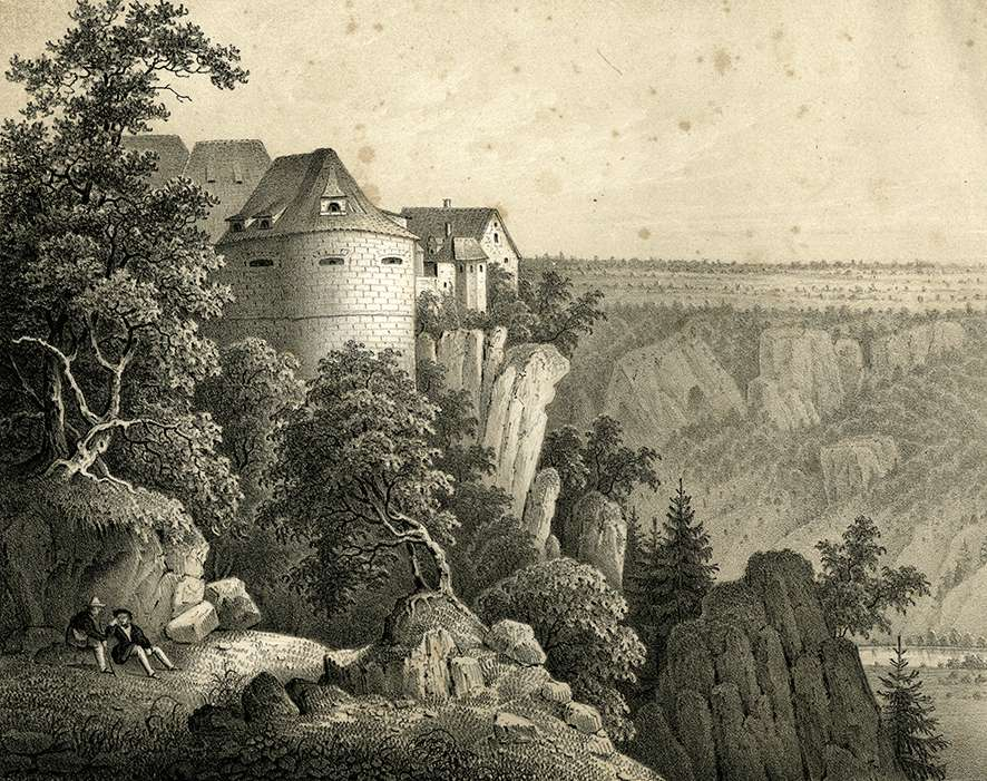 Chateau de Wildenstein, Bild 1