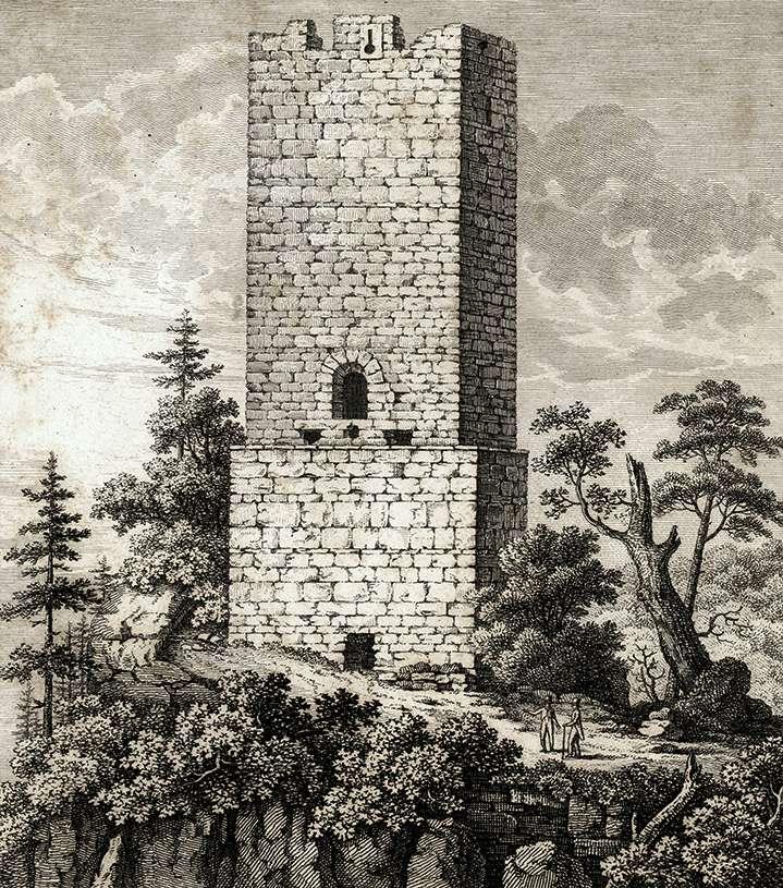 Der Thurm Yberg bey Baden, Bild 1